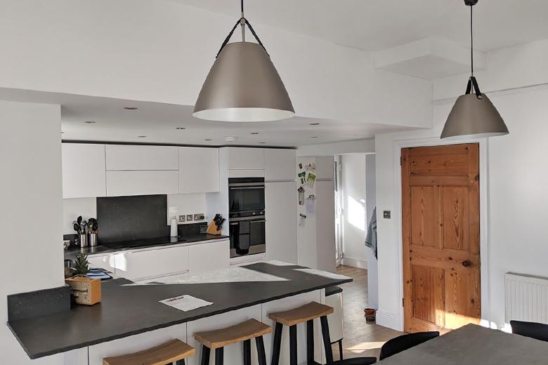 Kitchen extension in Long Ashton