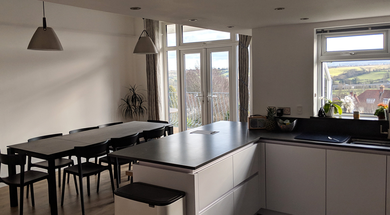 Kitchen extension in Long Ashton Bristol by Haldor Construction