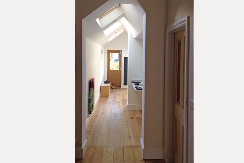 Roof windows allow maximum light